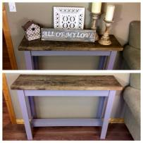 Small Console Table