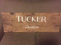 Barn Board Sign